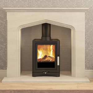 Broseley Evolution 5 Stove Lifestyle Hemsworth Fireplaces