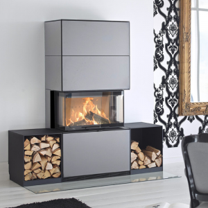 Contura i51 stove on Hemsworth Fireplaces