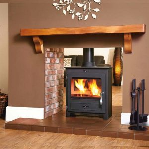 Portway 2 Contemporary Double Sided from Hemsworth Fireplaces