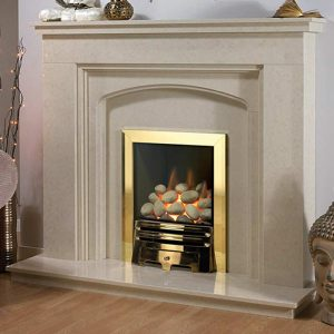 The Castelle fireplace from Hemsworth Fireplaces