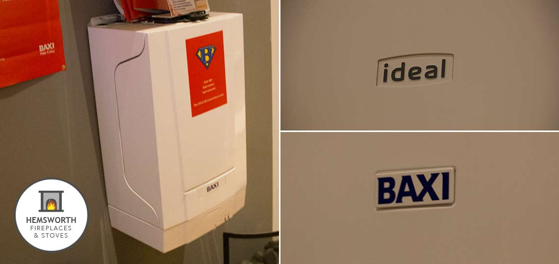 Ideal and Baxi boilers from Hemsworth Fireplaces EcoTech Stoves sell boilers