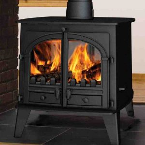 Hemsworth fireplaces Consort 9 Double sided