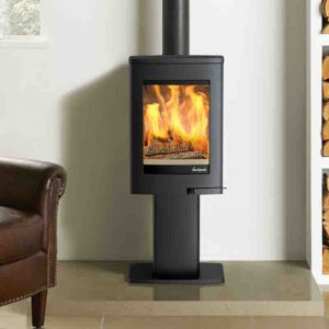 Hemsworth Fireplaces Uno 1 Lifestyle Photo