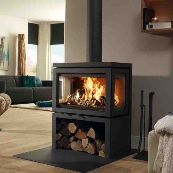 Hemsworth Fireplaces Vidar Triple