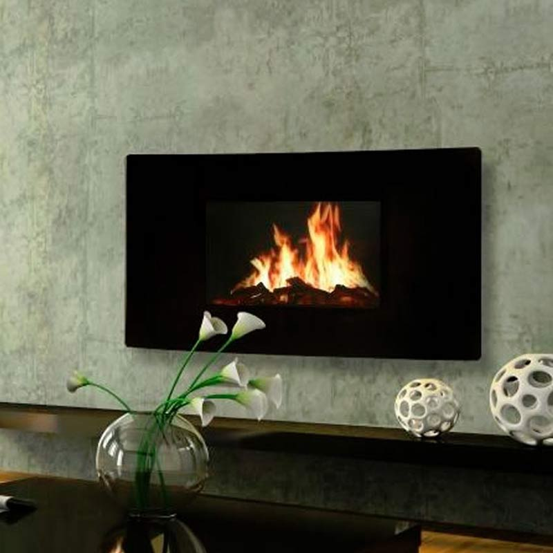 Puraflame Curved Hemsworth Fireplaces Ecotech Stoves