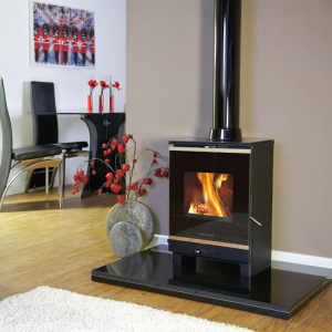 Portway 1 Glass Multifuel Stove