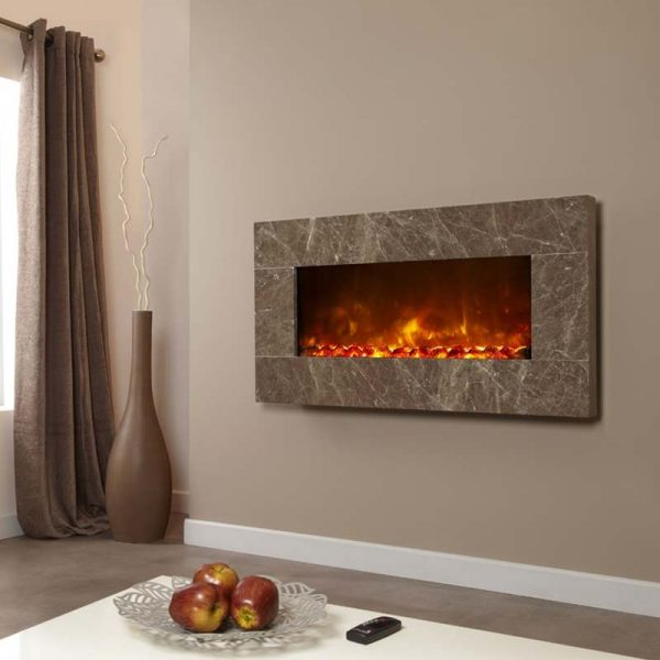 Celsi Electriflame XD Prestige Brown from Hemsworth Fireplaces