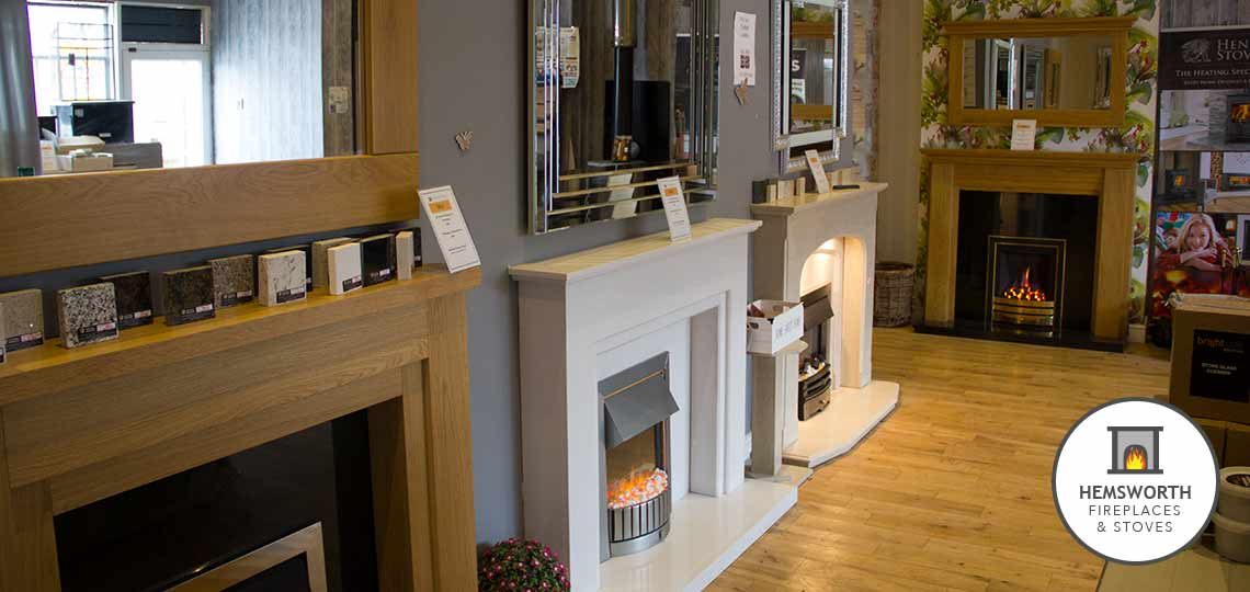 Hemsworth Fireplaces EcoTech Stoves fireplace displays