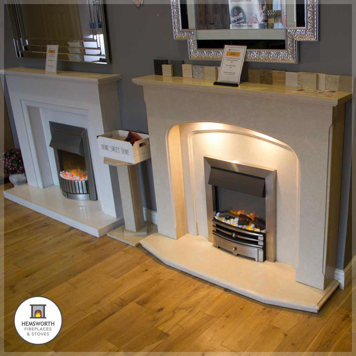 Hemsworth Fireplaces EcoTech Stoves showroom