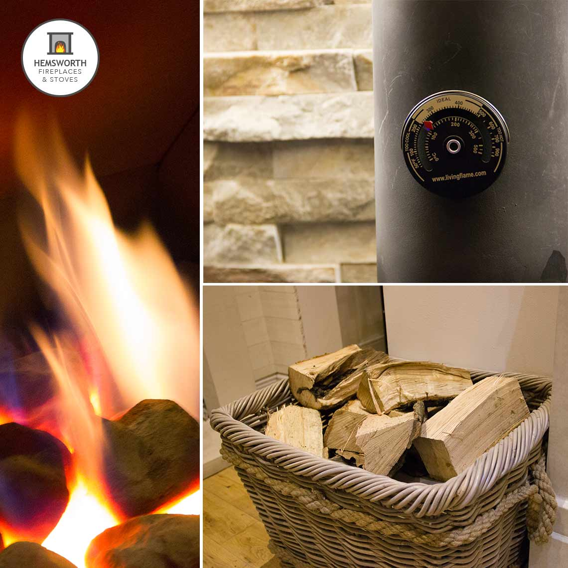 Hemsworth Fireplaces EcoTech Stoves showroom accessories